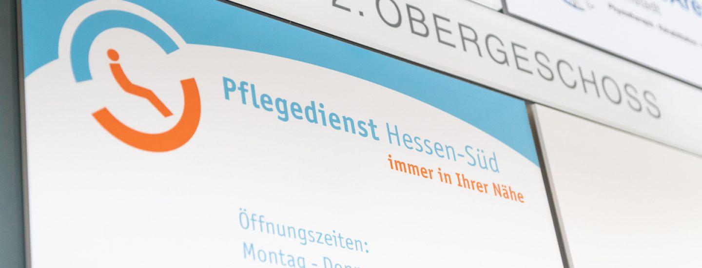 Pflegedienst Hessen-Süd - immer in Ihrer Nähe