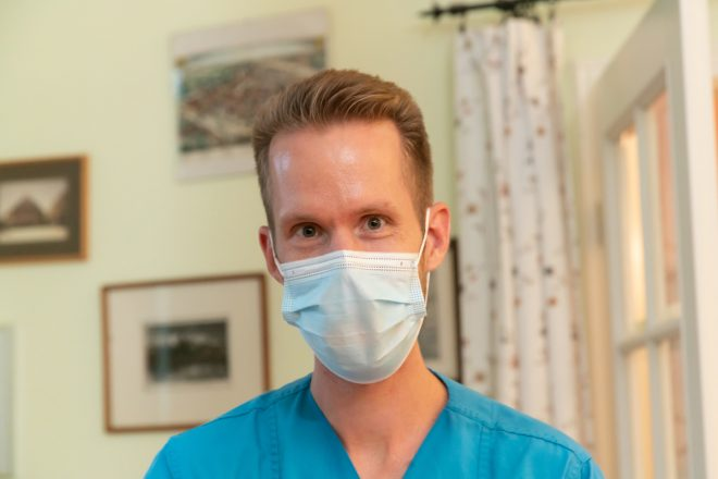 Mundschutz tragen - Wir schützen Sie und uns