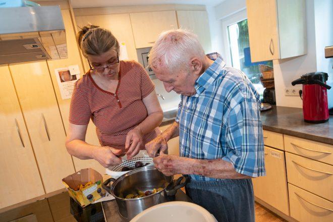 Gemeinsam kochen und backen