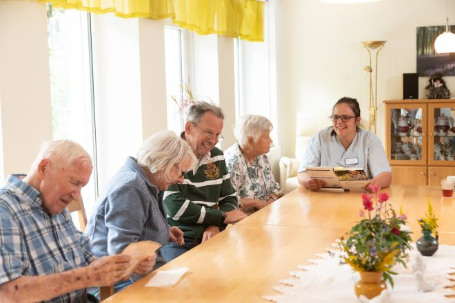 Betreuung in der Demenz-WG